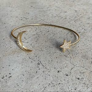 Star and moon bracelet perfect condition